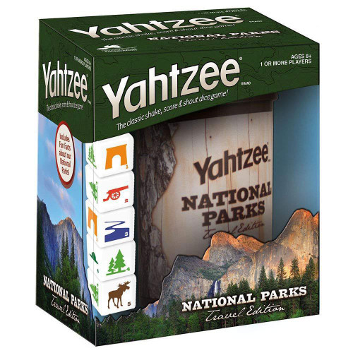 Yahtzee: National Parks Travel Edition