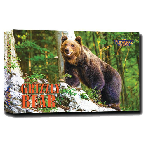 Flip Book - Grizzly Bear