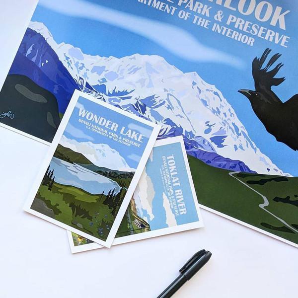 Postcard - Laura Whitelock - Denali National Park & Preserve