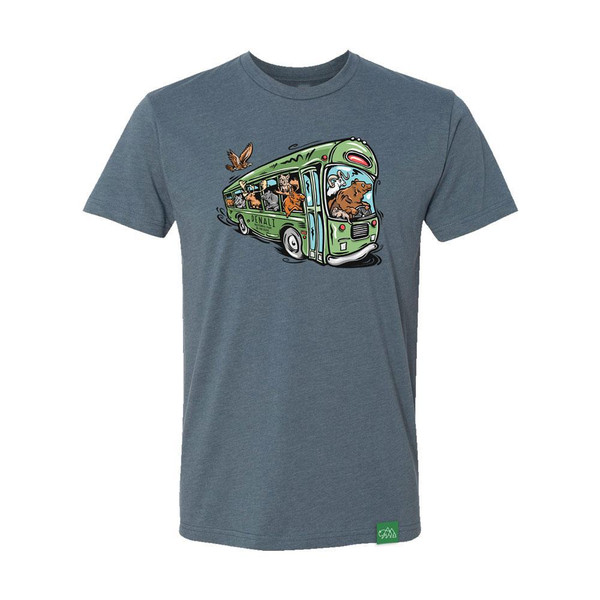 T-shirt - Denali Animal Bus Adult