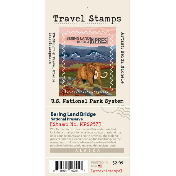 Travel Stamp - Bering Land Bridge National Preserve