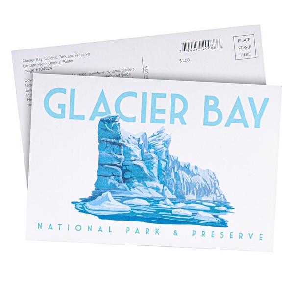 Postcard - Glacier Bay - Glacier