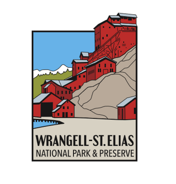 Pin - Wrangell St. Elias - Kennecott Mill