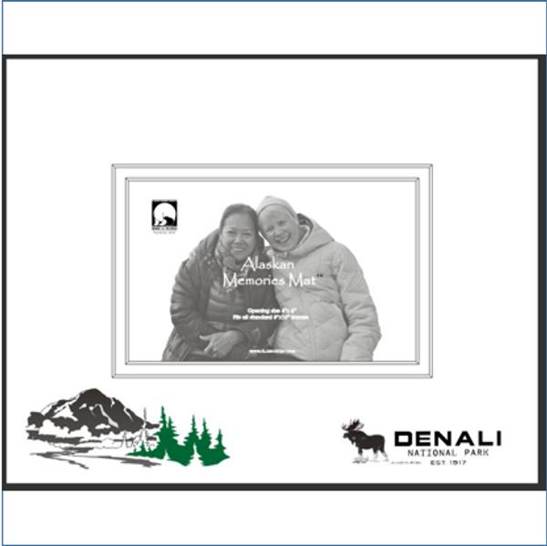 Denali Memories Mat Horizontal (8 X 10)