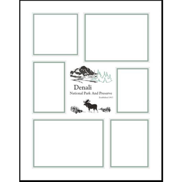 Denali Memories Mat Vertical (11 X 14)
