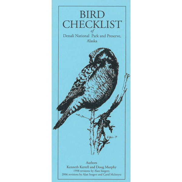 Bird Checklist of Denali National Park & Preserve
