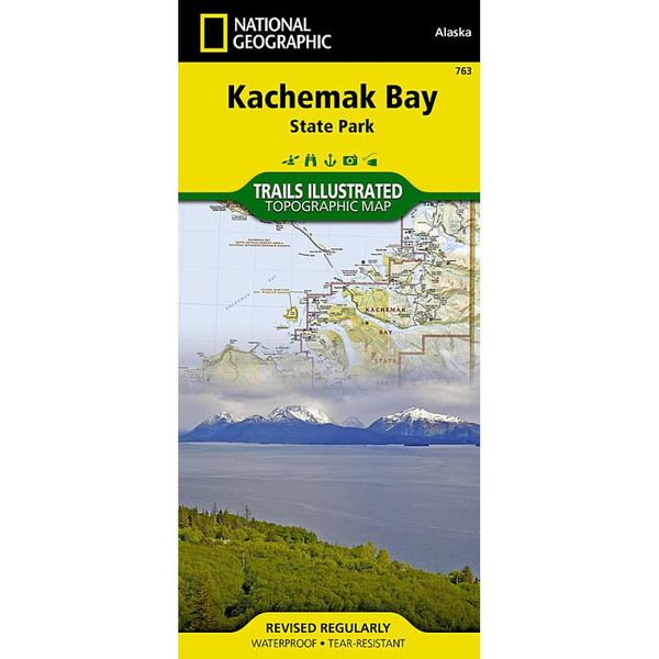 Kachemak Bay State Park National Geographic Trails Illustrated Map