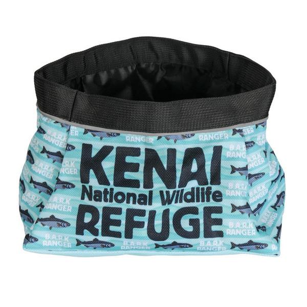 Dog Travel Bowl - B.A.R.K. Ranger - Kenai National Wildlife Refuge
