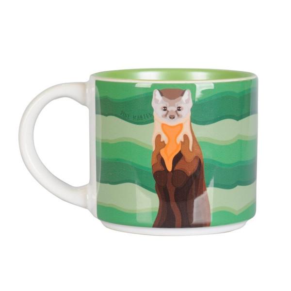 Mug - Pine Marten Portrait