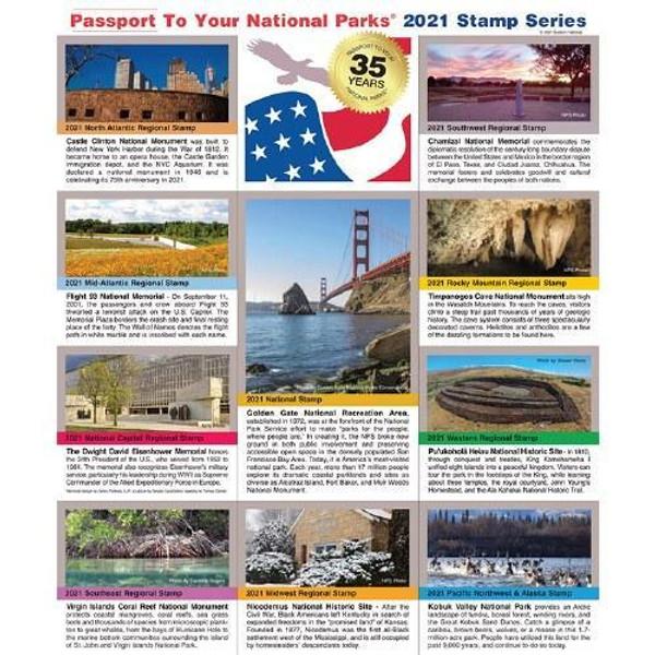 Passport NP Stamp 2021 - Featuring Kobuk Valley National Park