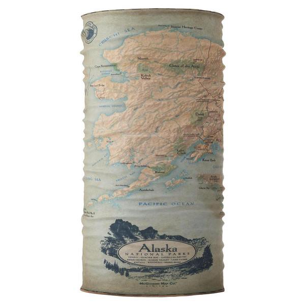 Bana - Alaska National Park Map