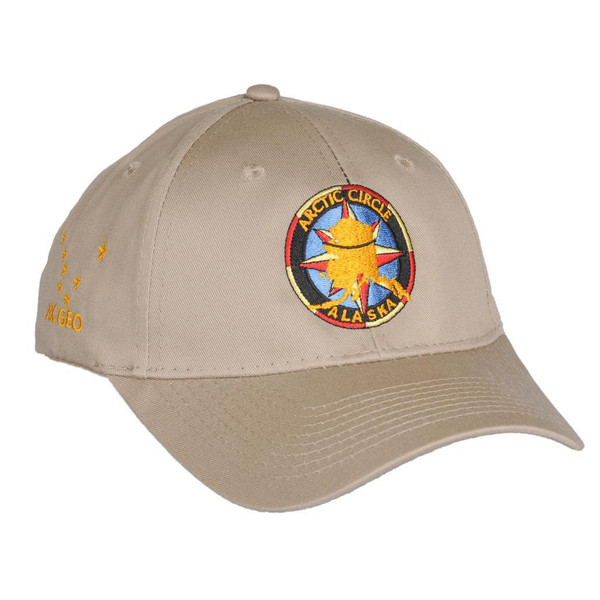 Baseball Hat - Dalton Highway, Arctic Circle Khaki