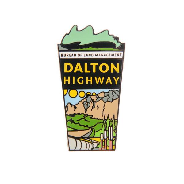 Magnet - Dalton Highway Enamel