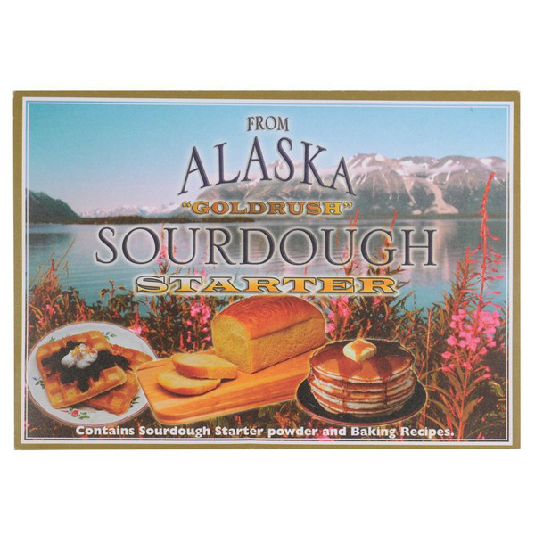 "From Alaska ""Goldrush"" Sourdough Starter Envelope"