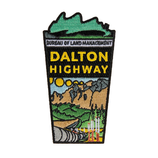 Patch - Dalton Highway Embroidered