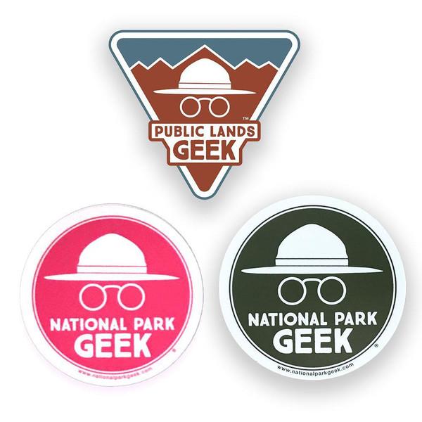 Public Lands Geek Stickers