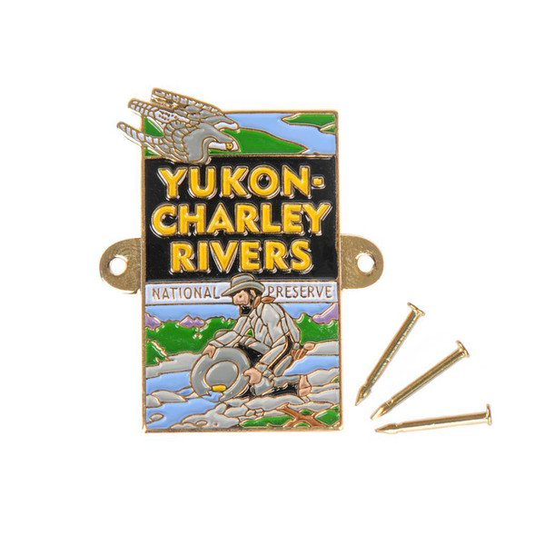 Hiking Medallion - Yukon-Charley Rivers National Preserve