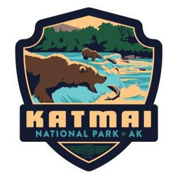 Sticker – Retro Katmai Emblem