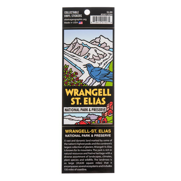 Sticker -  Wrangell-St. Elias National Park & Preserve