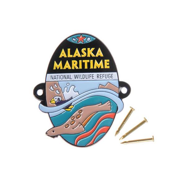 Hiking Medallion - Alaska Maritime National Wildlife Refuge