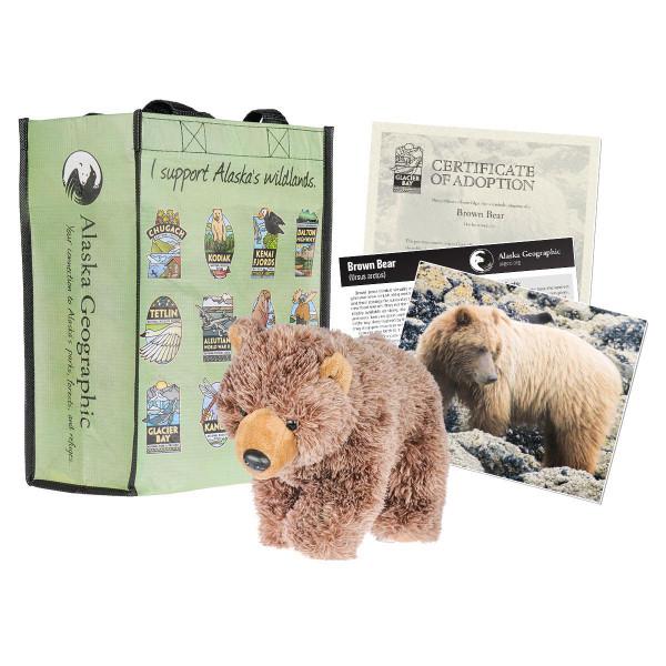 Adoption Kit - Brown Bear - Glacier Bay