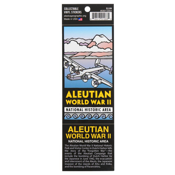 Sticker - Aleutian World War II National Historic Area