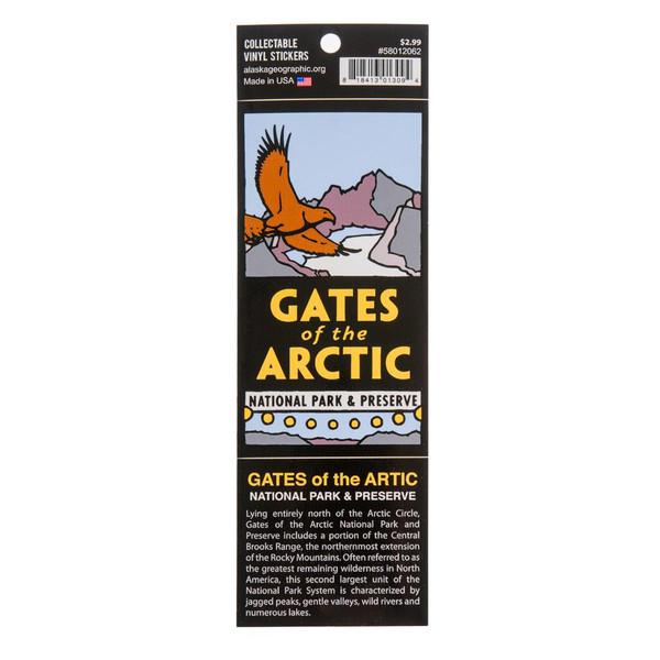 Sticker -  Gates of the Arctic National Park & Preserve