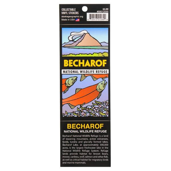 Sticker - Becharof National Wildlife Refuge