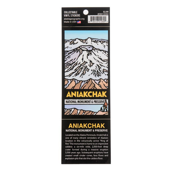 Sticker - Aniakchak National Monument & Preserve