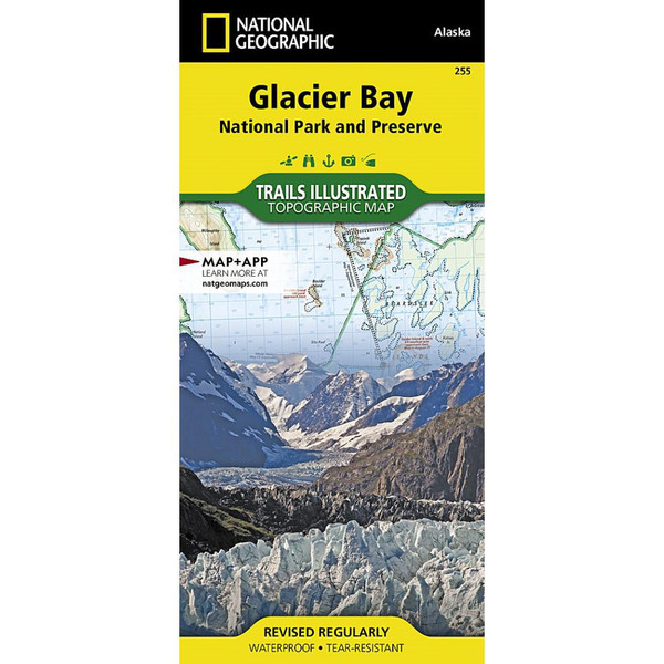 Glacier Bay National Park and Preserve National Geographic Trails Illustrated Map