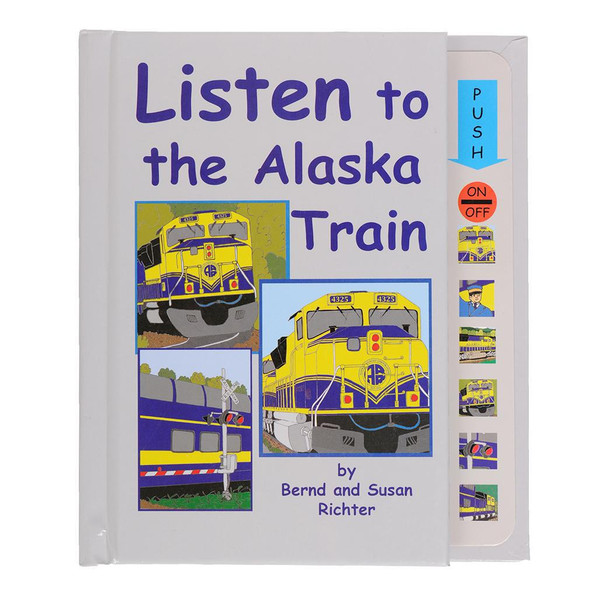 Listen to the Alaska Train Board Book