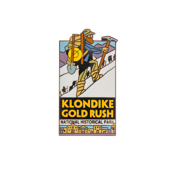 Pin - Klondike Gold Rush National Historical Park