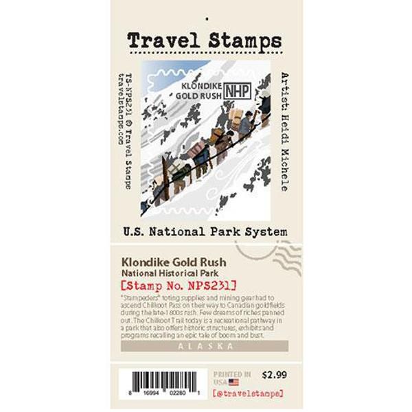 Travel Stamp - Klondike Gold Rush National Historical Park
