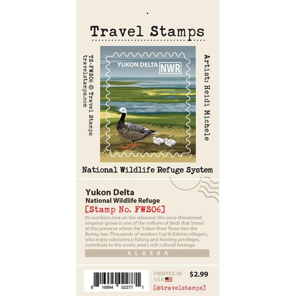 Travel Stamp - Yukon Delta National Wildlife Refuge