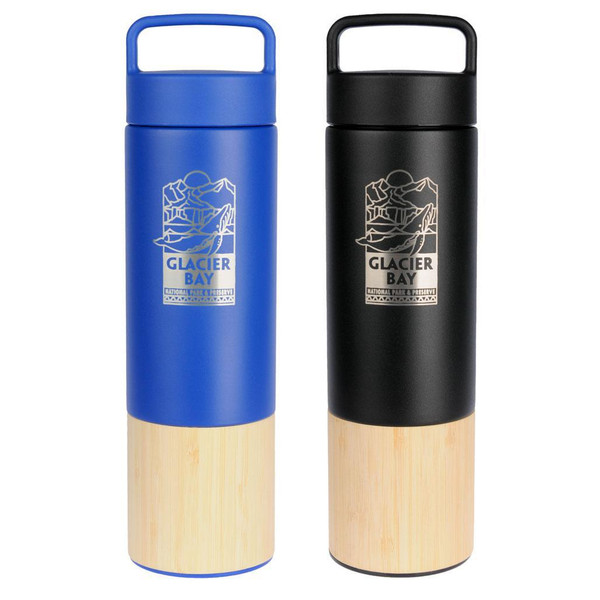 Bamboo Water Bottle - Glacier Bay National Park & Preserve