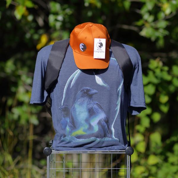 T-Shirt - Raven and Polar Bear - Alaska Geographic