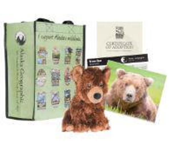 Adoption Kit - Brown Bear - Katmai