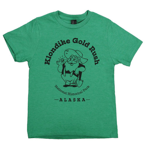 T-Shirt - Youth Green Klondike Gold Rush