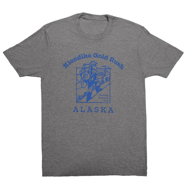 T-Shirt - Klondike Gold Rush - Gray