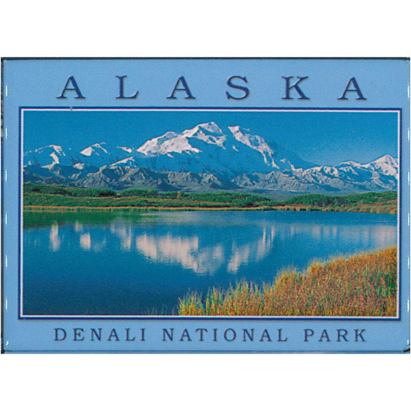 Magnet - Alaska Wild Images Denali, Reflection Pond