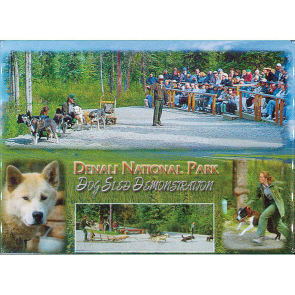 Magnet - Alaska Wild Images - Dog Demo
