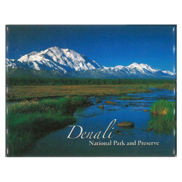 Magnet - Denali National Park Creek & Mountain