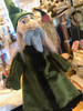 Marionette Puppet Wizard in Regal Green