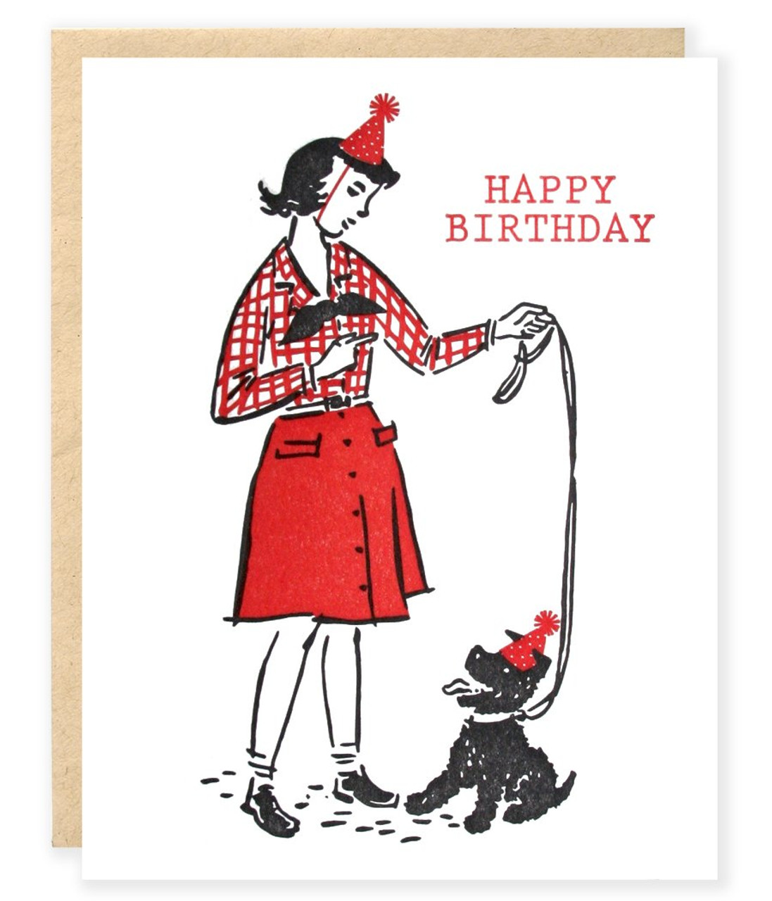 Good Dog Happy Birthday Card