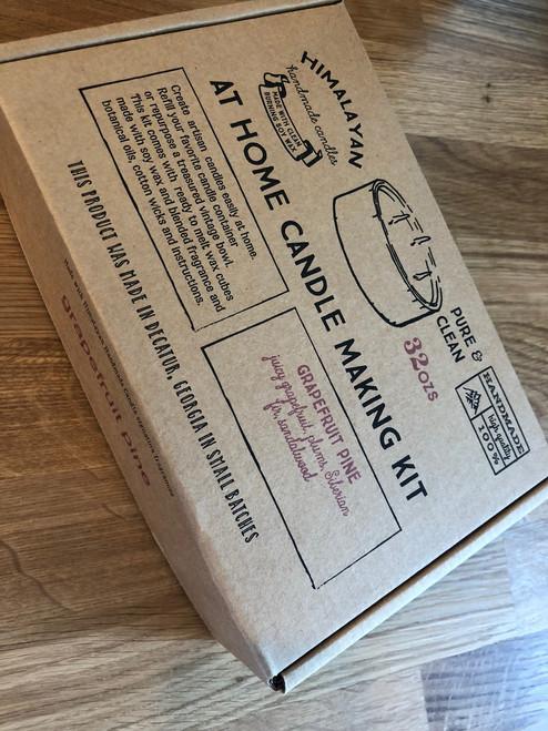 32 oz Candle Making Kit in Grapefruit Pine