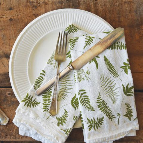 Fallen Ferns Napkin Set of 4