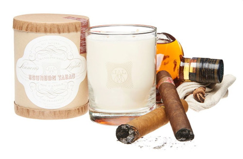 Bourbon Tabac 2 Wick Candle