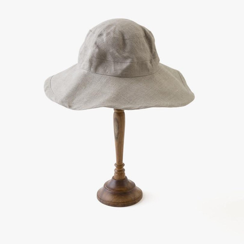 Linen Hat in Natural