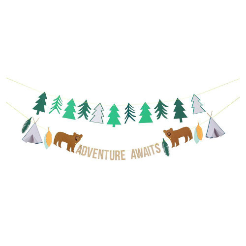 Adventure Awaits Let's Explore! Garland