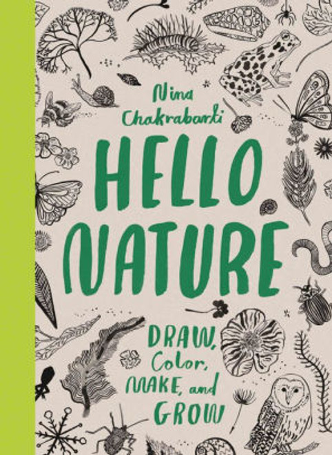This is your very own nature scrapbook, packed with fascinating facts and brilliant activities. Doodle, draw and colour in leaves, butterflies, plants and much more. How many different types of snowflakes are there, and how are leaves formed? Find out how to make your own leaf prints, twig sculptures and minibeast hotels.